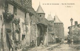 Cpa -  Carcassonne -  Rue Des Lices Hautes           T505 - Carcassonne