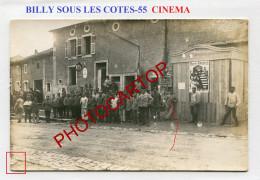 BILLY SOUS LES COTES-CINEMA-Affiches-Spectacle-CARTE PHOTO Allemande-Guerre 14-18-1 WK-France-55- - Frankreich