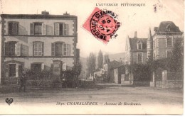 Chamalières - Avenue De Bordeaux, 1907 - Autres Communes