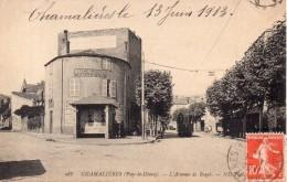 Chamalières - Avenue De Royat (tramway, Bascoulergue Tailleur ), 1913 - Autres Communes