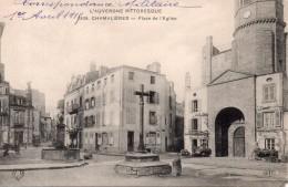 Chamalières - Place De L´église, 1915 - Autres Communes