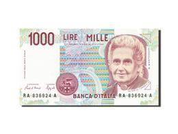 Italie, 1000 Lire, 1990-1994, KM:114a, 1990, SPL - [ 2] 1946-… : République