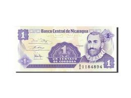 Nicaragua, 1 Centavo, 1991-1992, Undated (1991), KM:167, SPL - Nicaragua