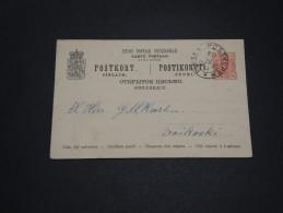 FINLANDE - Entier Postal Pour Voikoski En 1893  - A Voir - L 1693 - Finland