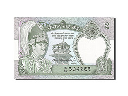 Népal, 2 Rupees, 1981-1987, Undated (1981), KM:29a, NEUF - Nepal