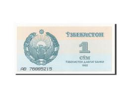 Uzbekistan, 1 Sum, 1992-1993, 1992, KM:61a, SPL - Uzbekistán
