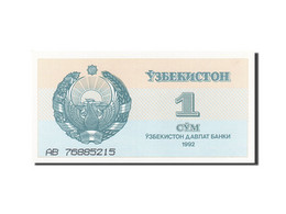 Uzbekistan, 1 Sum, 1992-1993, 1992, KM:61a, SPL - Uzbekistan