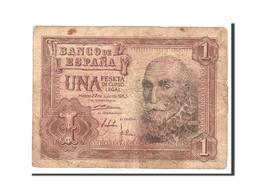 Espagne, 1 Peseta, 1953, KM:144a, 1953-07-22, TB - [ 3] 1936-1975 : Régence De Franco