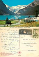 Lake Louise, Alberta, Canada Postcard Posted 1971 Stamp - Lake Louise