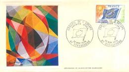 LETTRE GRAND FORMAT ( PREMIER JOUR ) - FDC - CONSEIL DE L´EUROPE - 22 NOVEMBRE 1975 A STRASBOURG - CÔTE : 10 EUROS - FDC