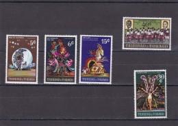 Trinidad Y Tobago Nº 263 Al 267 - Trinidad Y Tobago (1962-...)