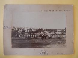 Fotografia Su Cartoncino Della Canea (Creta) 1896 - Guerra, Militari