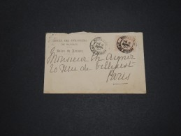 MONACO - Enveloppe Du Cercle Des Étrangers Pour Paris En 1894 - A Voir - L 1722 - Monaco