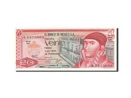 Mexique, 20 Pesos, 1969-1974, 1977-07-08, KM:64d, SPL - Mexique