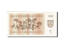Lithuania, 1 (Talonas), 1992, 1992, KM:39, SPL - Lituanie