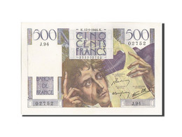 France, 500 Francs, 500 F 1945-1953 ''Chateaubriand'', 1946, 1946-09-12, KM:1... - 1871-1952 Circulated During XXth