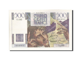 France, 500 Francs, 500 F 1945-1953 ''Chateaubriand'', 1953, 1953-06-04, KM:1... - 1871-1952 Circulated During XXth
