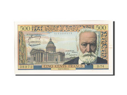 France, 500 Francs, 500 F 1954-1958 ''Victor Hugo'', 1955, 1955-08-04, KM:133... - 1871-1952 Circulated During XXth