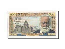 France, 500 Francs, 500 F 1954-1958 ''Victor Hugo'', 1955, 1955-08-04, KM:133... - 1871-1952 Anciens Francs Circulés Au XXème