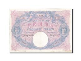 France, 50 Francs, 50 F 1889-1927 ''Bleu Et Rose'', 1905, 1905-12-18, KM:64c,... - 1871-1952 Antichi Franchi Circolanti Nel XX Secolo