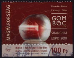 Monostatic Bodies - Shanghai Expo / CHINA - 2010 Hungary - Used (from Booklet)