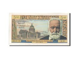 France, 5 Nouveaux Francs, 5 NF 1959-1965 ''Victor Hugo'', 1962, 1962-07-05,... - 5 NF 1959-1965 ''Victor Hugo''
