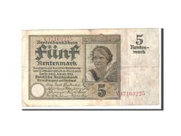 Allemagne, 5 Rentenmark, 1926, KM:169, 1926-01-02, TTB - [ 3] 1918-1933 : Repubblica  Di Weimar