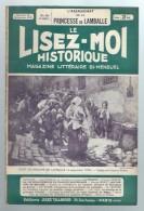 Le Lisez-moi Historique Magazine Littéraire Bi-mensuel N°22 L'assassinat De La Princesse De Lamballe - Royaume D'Yvetot - Books, Magazines, Comics