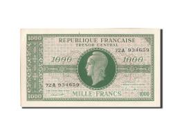 France, 1000 Francs, 1943-1945 Marianne, 1945, Undated (1945), KM:107, SPL, F... - Trésor