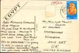 Egypt 2004 Used Postcard Send To England (St. Catherine) - Egypte