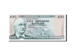Iceland, 100 Kronur, 1961, 1961-03-29, KM:44a, NEUF - IJsland