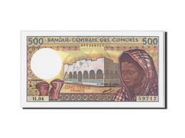 Comoros, 500 Francs, Non Daté (1986- ), KM:10a, NEUF - Comores