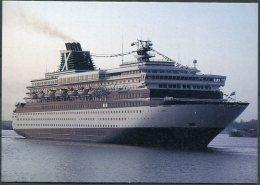 Chantry Classics Ship Postcard, ZENITH Arriving At Southampton - Ferries
