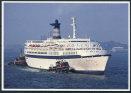 Chandris Celebrity Cruises Ship Postcard S.S. MERIDIAN - Ferries
