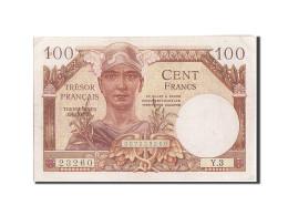 France, 100 Francs, 1955-1963 Treasury, 1955, 1955, KM:M11a, SUP, Fayette:VF34.1 - Treasury