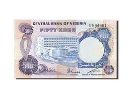 Nigéria, 50 Kobo, 1973-1977, Undated (1973-1978), KM:14f, SPL - Nigeria