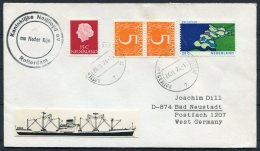 1974 Netherlands Ship Cover Nedlloyd Lines M.V. NEDER RIJN Rotterdam - Covers & Documents