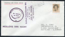Netherlands Ship Cover Nedlloyd Lines M.V. NEDLLOYD VAN NOORT - Period 1980-... (Beatrix)