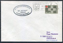 Netherlands Ship Cover Rotterdam Metro M/S WESTERKERK - Period 1949-1980 (Juliana)