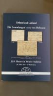 Estland Und Lettland, Die Sammlung Harry Von Hofmann, H. Köhler - Catalogues De Maisons De Vente