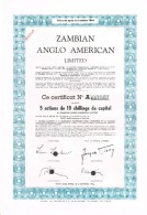 BE Zambian Anglo American Limited. - Zonder Classificatie