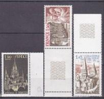 N° 1937 à 1939 Série Touristique: Dorat,Abbaye De Fontenay, Bayeux: - France