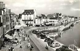 - Depts Div.-ref-KK74- Loire Atlantique - Le Croisic - Place D Aiguillon - Coiffeur - Publicite Parfums Clersanges - - Le Croisic
