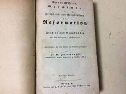 Italien / Graubünden - 1829 , Thomas M`Crie - Reformationsgeschichte , Top Raität Um 1829 , Reformation , Kirche !!! - GR Grisons