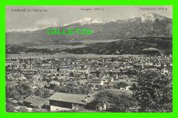 INNSBRUCK, AUTRICHE - VON HOTTING AUS - GIUNGEZER, 2679m - PATSCHERKOFEL, 2214m - VERLAG, VON FRITZ GRATL - - Innsbruck