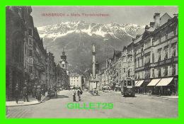 INNSBRUCK, AUTRICHE - MARIA THERESIENSTRASSE - ANIMATED - ROB WARGER - - Innsbruck