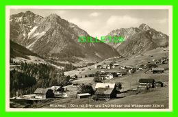 HIRSCHEGG MIT ELFER, AUTRICHE - UND ZWOLFERKOPT UND WIDDERSTEIN 2536m -  VERLAG, PHOTO A. KUNZEL - - Kleinwalsertal