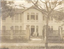 INDOCHINE -MAISON DU TRESOR  A LAO-BANG   Photo Animée - Guerre, Militaire