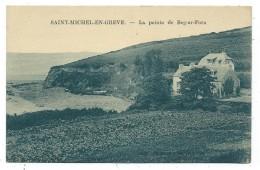 CPA - SAINT MICHEL EN GREVE, LA POINTE DE BEG AR FORN - Côtes D' Armor 22 - - Saint-Michel-en-Grève
