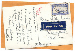 Belgian Congo 1938 Real Photo Postcard Mailed